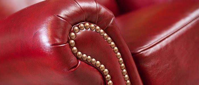 Leather Sofa Arm