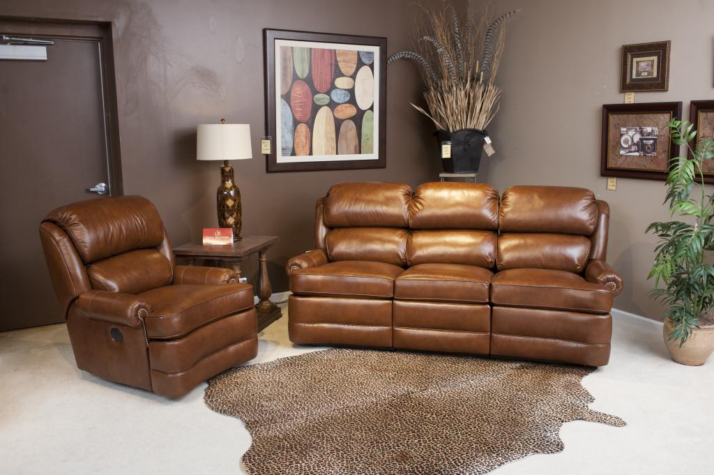 Click here for more information on the Smith 412 Reclining Sofa & Recliner