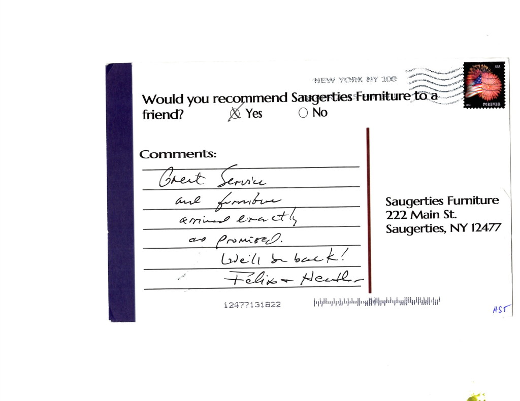 Felix U0026 Heather Click Here To Read More Reviews From Satisfied Saugerties Furniture  Mart Customers.