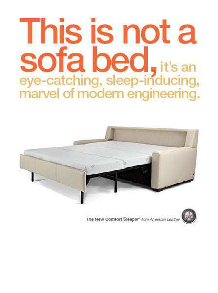 Click here to learn more about the Comfort Sleeper