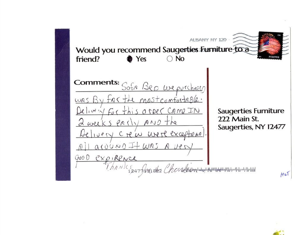 Click here to see more comments from our valued  customers.