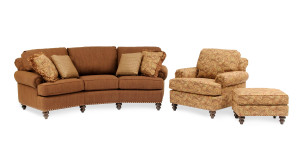 The 324 Conversation Sofa from Smith Brothers of Berne