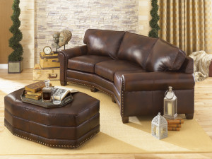 393 conversation sofa leather